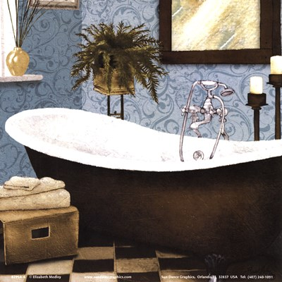 Afternoon Bath II Poster by Elizabeth Medley for $10.00 CAD