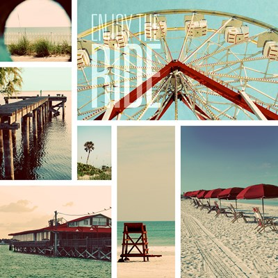 Beach Life II Poster by Gail Peck for $25.00 CAD