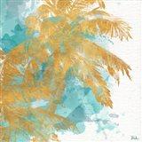 Beach Palm Watercolor II