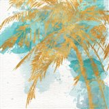 Beach Palm Watercolor I