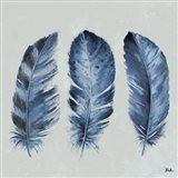 Indigo Feathers II
