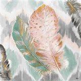 Ikat Feathers II