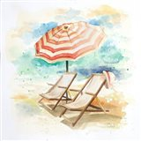 Umbrella On The Beach I