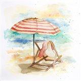 Umbrella On The Beach II