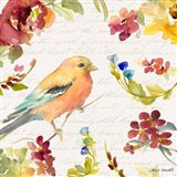 Floral Bird Script II