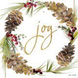 Gold Christmas Wreath II