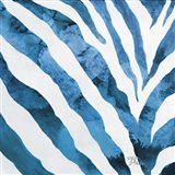 Watercolor Zebra I