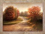 Autumn Lane I