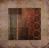 Circles in the Abstract I with Border