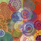 Circle Flowers III