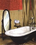 Red Farmhouse Bath II