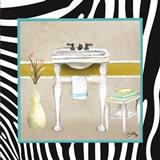 Zebra Bath I