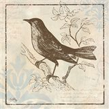 Bird Woodcut II