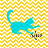Chevron Cat