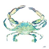 Sea Life in Blues II (crab)