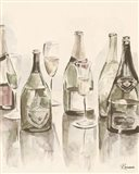 Sepia Champagne Reflections I