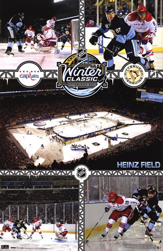 2011 NHL® Winter Classic Poster by Unknown for $12.50 CAD