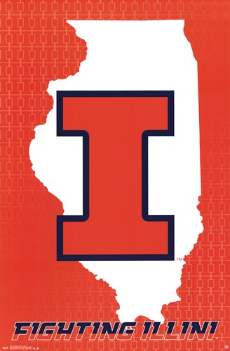 University of Illinois - Logo 14 Poster by Unknown for $12.50 CAD