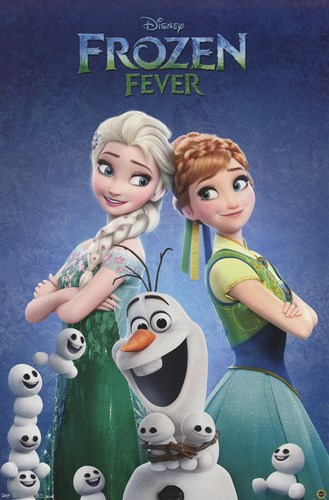 Frozen Fever - One Sheet Poster by Unknown for $12.50 CAD