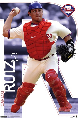 Phillies - C Ruiz 11 Poster by Unknown for $12.50 CAD