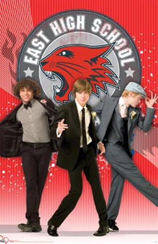High School Musical3 - The Fellas Poster by Walt Disney for $12.50 CAD