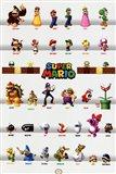 Super Mario - Character Grid
