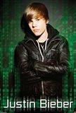 Justin Bieber Green Mural