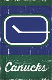 Vancouver Canucks - Retro Logo 13 - your walls, your style!