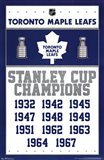 Maple Leafs - Champions 13 - your walls, your style!