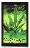 Black Light - Marijuana - It's 4:20 Somewhere