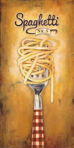Spaghetti Poster by Elisa Raimodi for $50.00 CAD