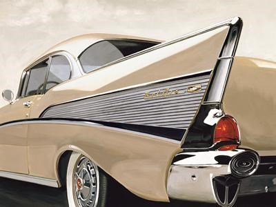 '57 Bel Air Poster by Chris Brook for $103.75 CAD