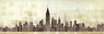 Empire Skyline Poster by Avery Tillmon for $28.75 CAD