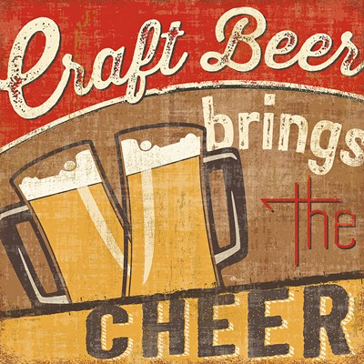 Craft Brew I Poster by Pela Studio for $13.75 CAD