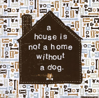A House is not a Home Poster by Peter Horjus for $12.50 CAD