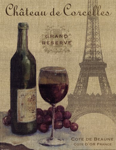 Travel Wine I Poster by Wild Apple Studio for $15.00 CAD
