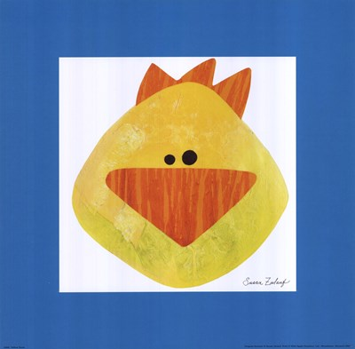 Yellow Duck Poster by Susan Zulauf for $15.00 CAD