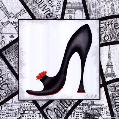 City Shoes II Poster by Catherine A Moore for $15.00 CAD