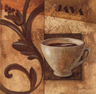 Deco Coffee III Java Poster by Silvia Vassileva for $13.75 CAD