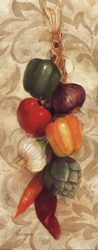 Mixed Vegetables I Poster by Albena Hristova for $17.50 CAD