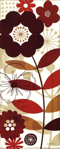 Floral Pop I Poster by Mo Mullan for $17.50 CAD