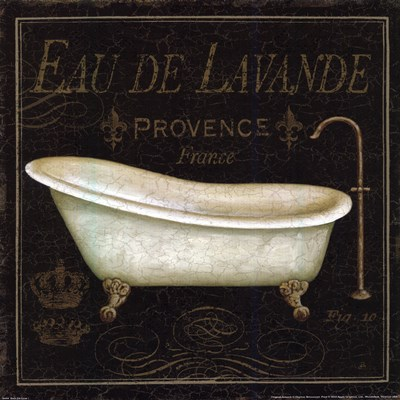 Bain de Luxe I Poster by Daphne Brissonnet for $15.00 CAD