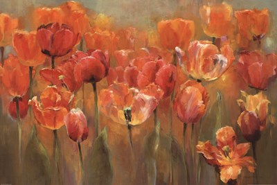Tulips in the Midst III Poster by Marilyn Hageman for $36.25 CAD