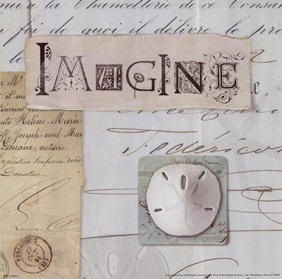 Imagine Poster by Unknown for $13.75 CAD