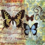 Homespun Butterfly I