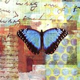 Homespun Butterfly III