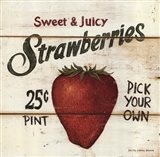 Sweet and Juicy Strawberries