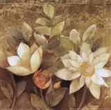 Gilded Waterlilies II