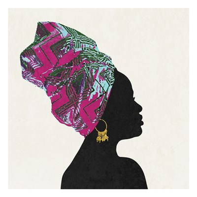 Kente 1 Art Print by Brown