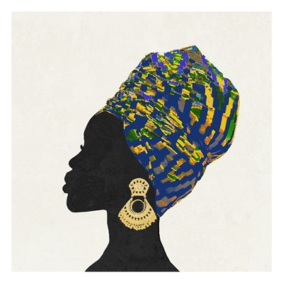 Kente 2 Art Print by Brown